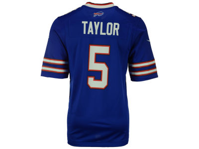 Buffalo Bills Tyrod Taylor Nike NFL Men's Game Jersey
