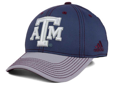 Texas A&M Aggies adidas NCAA Darkness Flex Cap