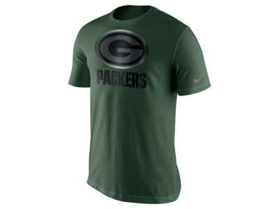 Green Bay Packers Nike NFL Men's Champ Drive Reflective Logo T-Shirt