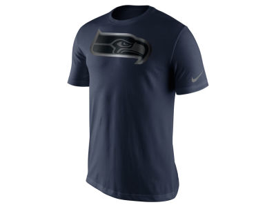 Seattle Seahawks Nike NFL Men's Champ Drive Reflective Logo T-Shirt