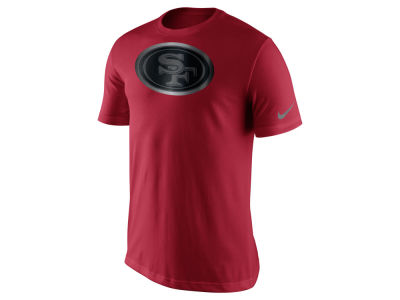 San Francisco 49ers Nike NFL Men's Champ Drive Reflective Logo T-Shirt