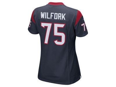 Houston Texans Vince Wilfork Nike NFL Women's Game Jersey