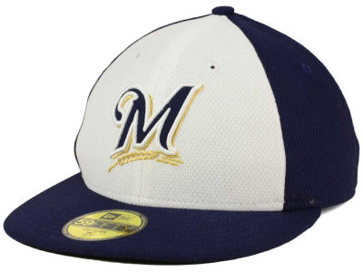 Milwaukee Brewers New Era MLB Low Profile Diamond Era 59FIFTY Cap