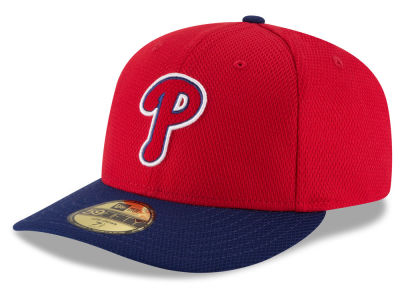 Philadelphia Phillies New Era MLB Low Profile Diamond Era 59FIFTY Cap