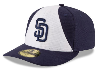 San Diego Padres New Era MLB Low Profile Diamond Era 59FIFTY Cap