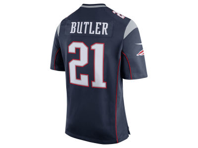 New England Patriots Malcolm Butler Nike NFL Men's Game Jersey