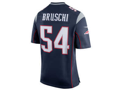 New England Patriots Tedy Bruschi Nike NFL Retired Game Jersey