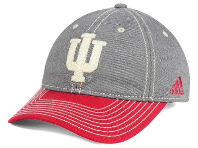 Indiana Hoosiers adidas NCAA Shadow Slouch Adjustable Cap