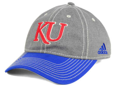 Kansas Jayhawks adidas NCAA Shadow Slouch Adjustable Cap