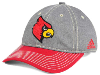 Louisville Cardinals adidas NCAA Shadow Slouch Adjustable Cap