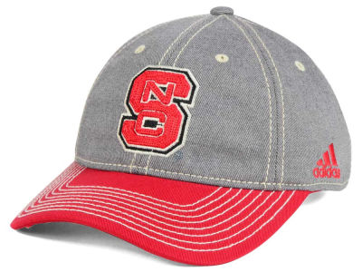 North Carolina State Wolfpack adidas NCAA Shadow Slouch Adjustable Cap