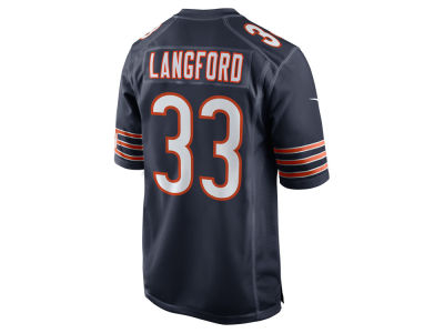 Chicago Bears Jeremy Langford Nike NFL Men's Game Jersey