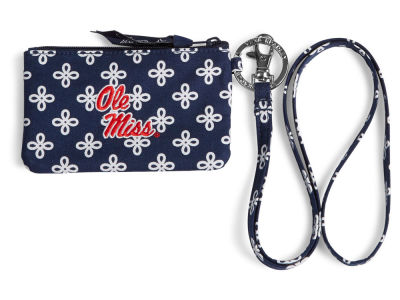 Ole Miss Rebels Vera Bradley Vera Bradley Zip ID with Lanyard