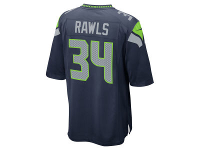 Seattle Seahawks Thomas Rawls Nike NFL Men's Game Jersey
