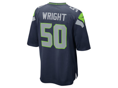 Seattle Seahawks K.J. Wright Nike NFL Men's Game Jersey