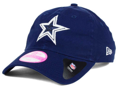 Dallas Cowboys New Era NFL Women's Team Glisten 9TWENTY Cap