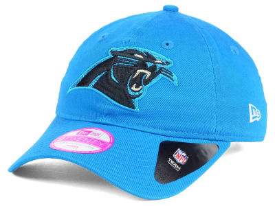 Carolina Panthers New Era NFL Women's Team Glisten 9TWENTY Cap