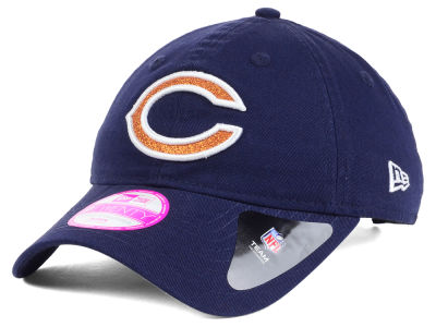 Chicago Bears New Era NFL Women's Team Glisten 9TWENTY Cap