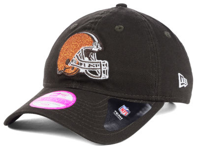Cleveland Browns New Era NFL Women's Team Glisten 9TWENTY Cap