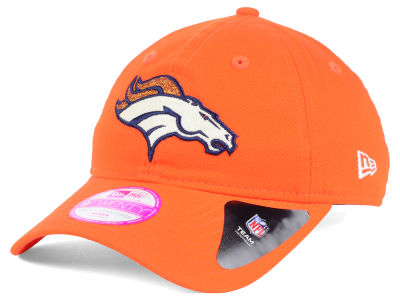 Denver Broncos New Era NFL Women's Team Glisten 9TWENTY Cap