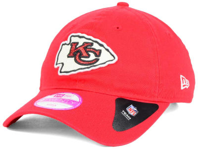 Kansas City Chiefs New Era NFL Women's Team Glisten 9TWENTY Cap