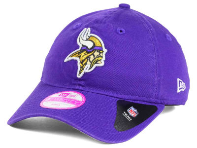Minnesota Vikings New Era NFL Women's Team Glisten 9TWENTY Cap