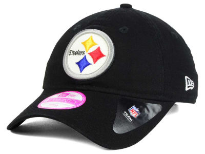 Pittsburgh Steelers New Era NFL Women's Team Glisten 9TWENTY Cap