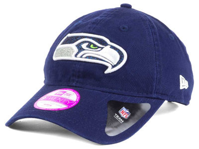 Seattle Seahawks New Era NFL Women's Team Glisten 9TWENTY Cap