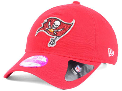 Tampa Bay Buccaneers New Era NFL Women's Team Glisten 9TWENTY Cap