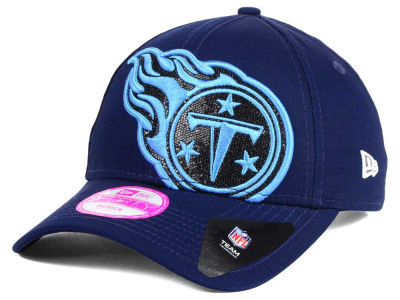 Tennessee Titans New Era NFL Women's Glitter Glam 2.0 9FORTY Cap