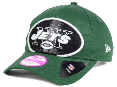 New York Jets New Era NFL Women's Glitter Glam 2.0 9FORTY Cap