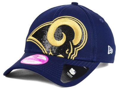 Los Angeles Rams New Era NFL Women's Glitter Glam 2.0 9FORTY Cap