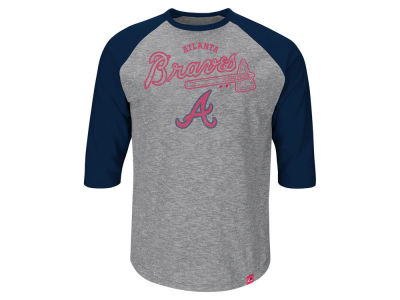 Atlanta Braves MLB Men's Fast Win Raglan T-Shirt ES