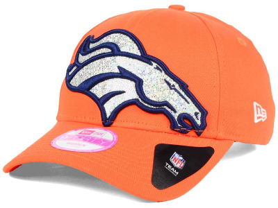 Denver Broncos New Era NFL Women's Glitter Glam 2.0 9FORTY Cap