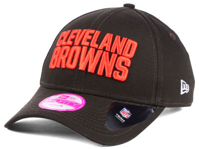 Cleveland Browns New Era NFL Women's Glitter Glam 2.0 9FORTY Cap