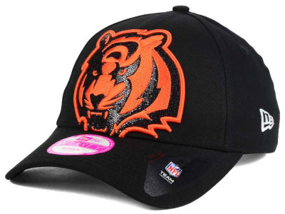 Cincinnati Bengals New Era NFL Women's Glitter Glam 2.0 9FORTY Cap