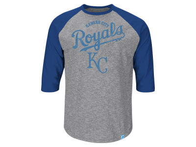 Kansas City Royals MLB Men's Fast Win Raglan T-Shirt ES