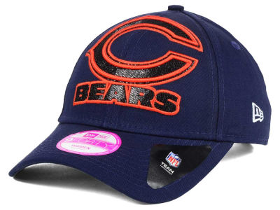 Chicago Bears New Era NFL Women's Glitter Glam 2.0 9FORTY Cap