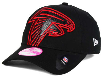 Atlanta Falcons New Era NFL Women's Glitter Glam 2.0 9FORTY Cap