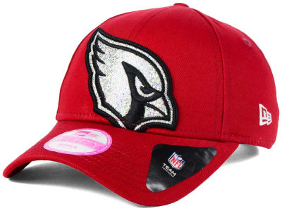 Arizona Cardinals New Era NFL Women's Glitter Glam 2.0 9FORTY Cap