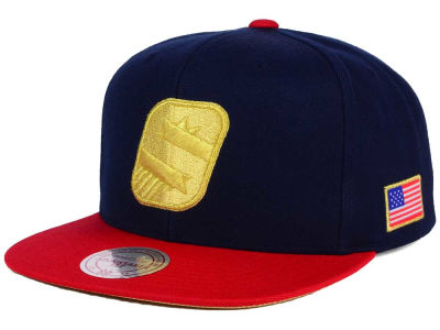 Phoenix Suns Mitchell and Ness NBA USA 2 Tone Snapback Cap