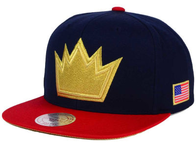 Sacramento Kings Mitchell and Ness NBA USA 2 Tone Snapback Cap