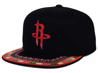 Houston Rockets Mitchell and Ness NBA A-Threads Snapback Cap