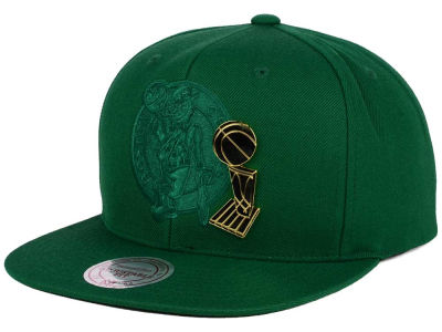 Boston Celtics Mitchell and Ness NBA Broach Champ Collection Snapback Cap