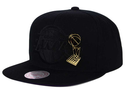 Los Angeles Lakers Mitchell and Ness NBA Broach Champ Collection Snapback Cap