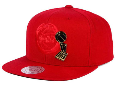 Houston Rockets Mitchell and Ness NBA Broach Champ Collection Snapback Cap