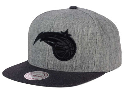 Orlando Magic Mitchell and Ness NBA Double Heather Snapback Cap