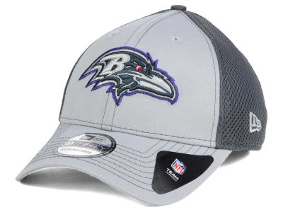 Baltimore Ravens New Era NFL Grayed Out Neo 39THIRTY Cap