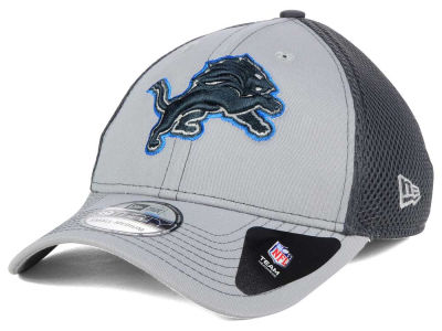 Detroit Lions New Era NFL Grayed Out Neo 39THIRTY Cap