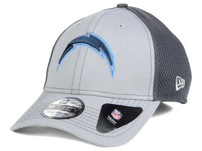 San Diego Chargers New Era NFL Grayed Out Neo 39THIRTY Cap
